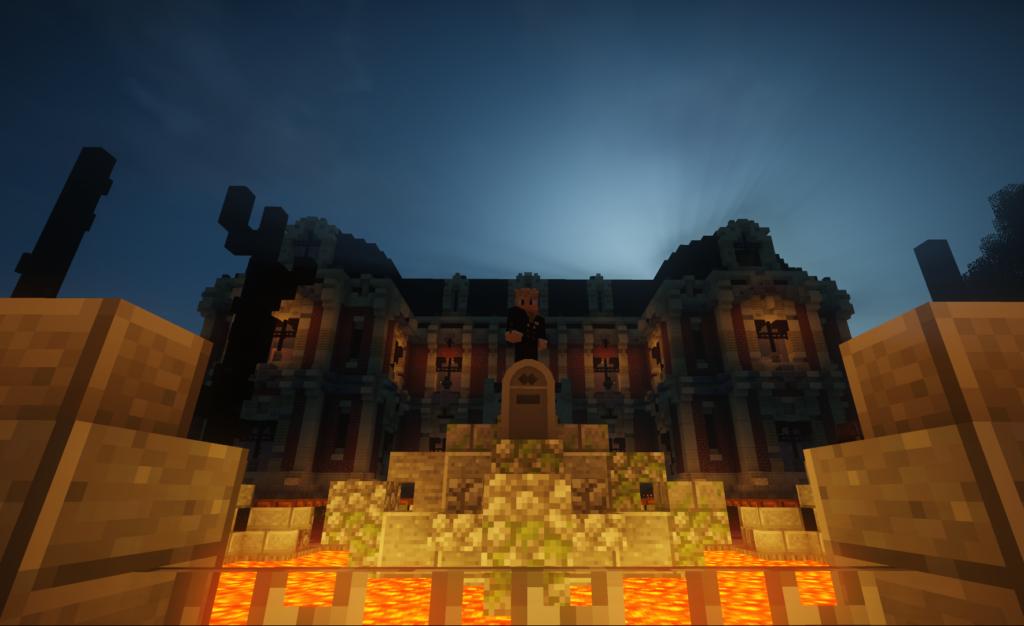 Villa van Gronsieur op ZintuigenCraft Halloween 2020