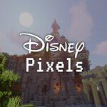 Minecraft Pretpark Disney Pixels