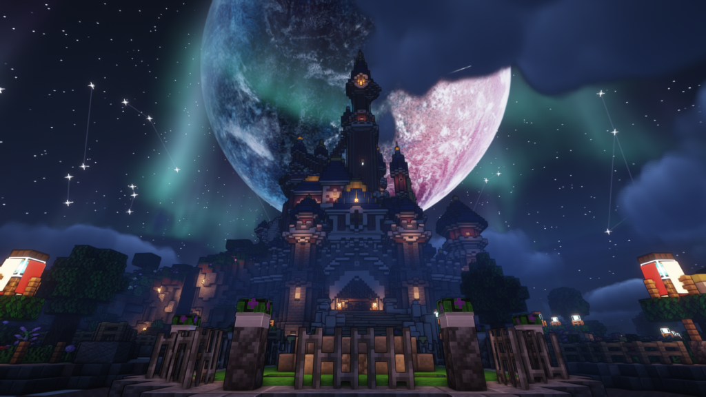 Disney kasteel op DroomCraft Revisited