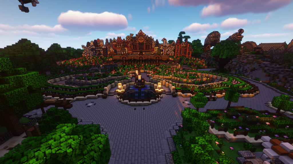 It's a small world op DroomCraft Revisited