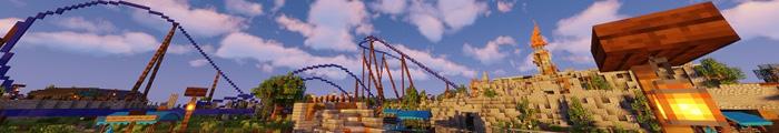 Minecraft Pretpark ArulonaCraft (Custom park)