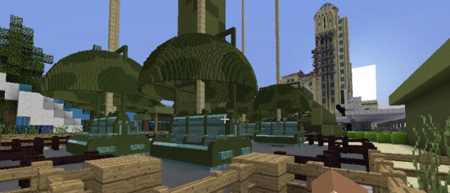 ParkLeaksMC - RollerCoaster ThemePark nakt models van DisneyCraftParis