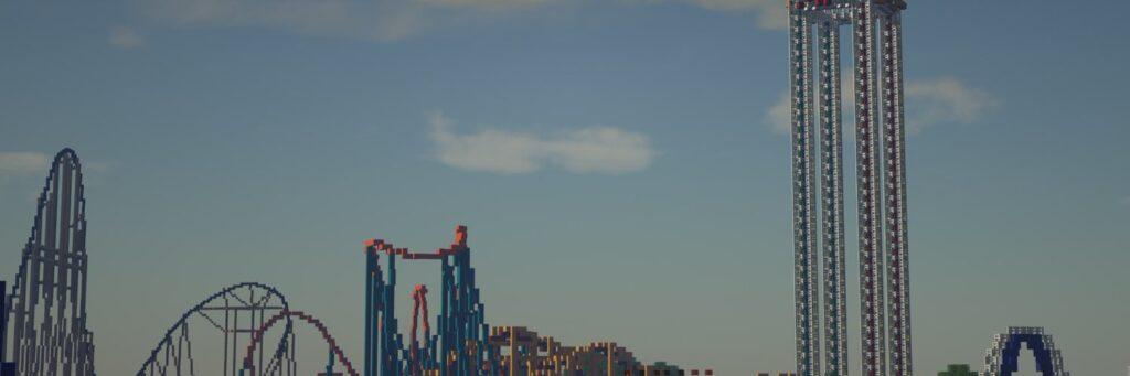 Minecraft Themepark Cedar Fair MC (Cedar Point)