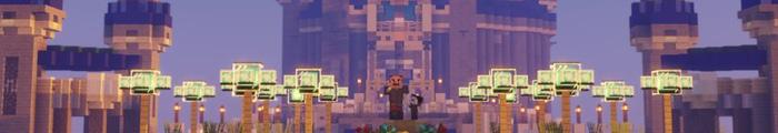 Minecraft Themepark Dreamers Network (Universal Studios Orlando Resort)