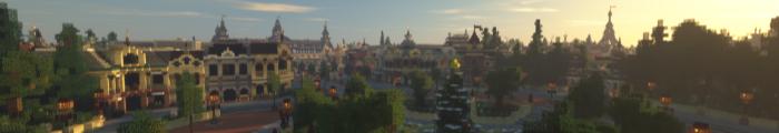 Minecraft Parc d'attractions Valenturia (Parc personnalisé)
