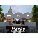 Mincraft pretpark MAP Media Parks (Custom park)