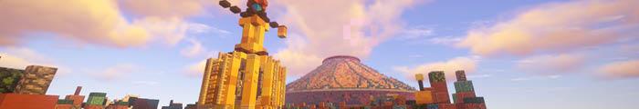 Minecraft Pretpark ExoticCraft (Disneyland Parijs)