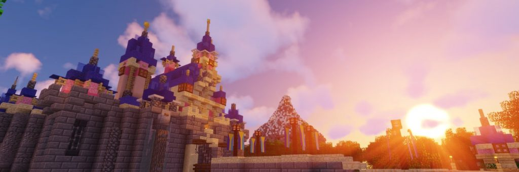 Minecraft Themepark MagicalAttractionsMC (Walt Disney World Resort)