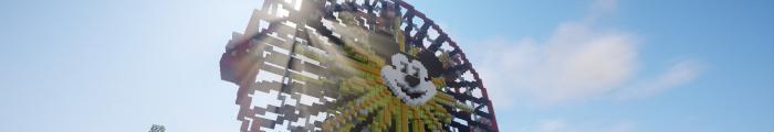 Minecraft Themepark MagicalDreamsMC (Custom park)