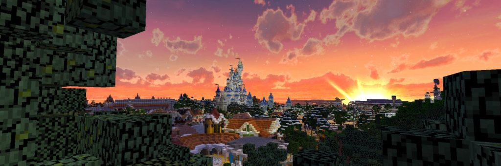 Minecraft Themepark One Big Nation (Walt Disney World Resort)