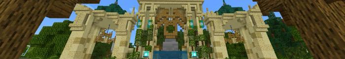 Minecraft Themepark Stratus Gardens (Custom park)