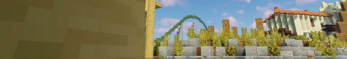 Minecraft Pretpark ToverCraft (Attractiepark Toverland)