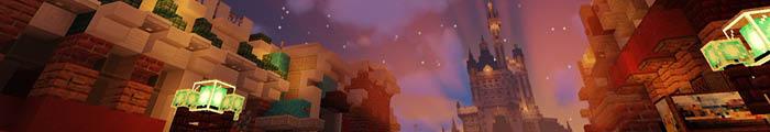 Minecraft Themepark Wishing Parks (Walt Disney World)