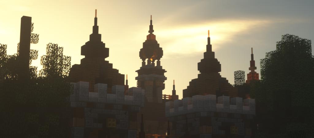 Gebied op Minecraft Pretpark Valenturia
