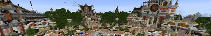 Minecraft Themepark Craftventure (Custom park)