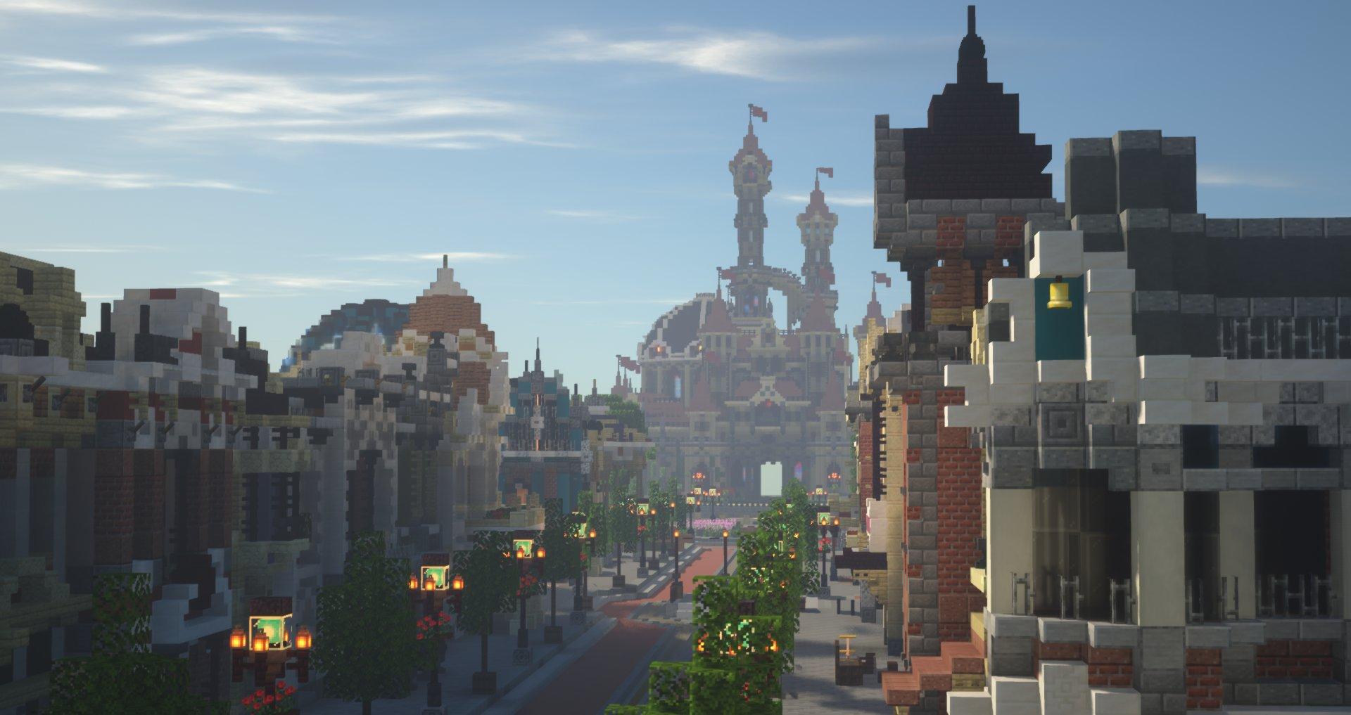 Minecraft Freizeitpark Craftventure