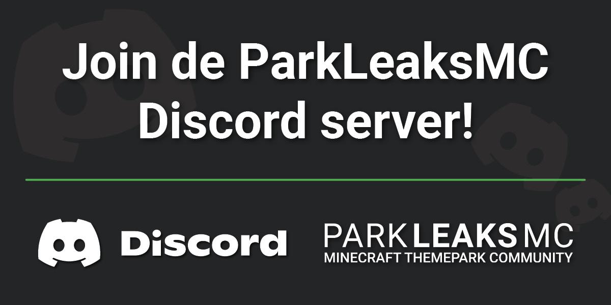 Advertentie - Join de ParkLeaksMC Discord server!