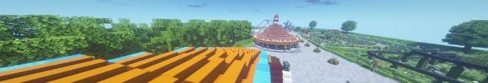 Minecraft Pretpark Driecraft (Familiepark Drievliet)