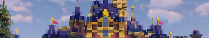 Minecraft Themepark DisneyWishes (Disneyland Paris)