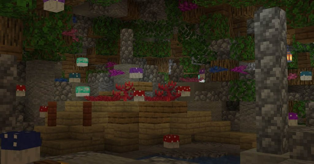 Forgotten Forest Expeditions on Minecraft Custom Themepark Kw6Craft