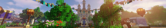 Mincraft pretpark EscapeCraft (Custom park)