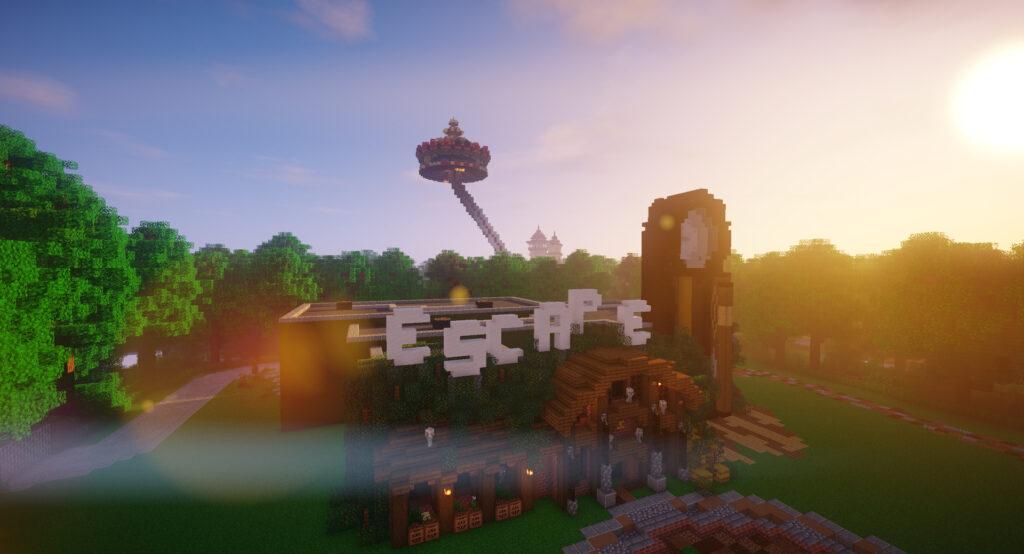 Escaperoom Het missende Geitje op Minecraft Pretpark ZintuigenCraft (Efteling)