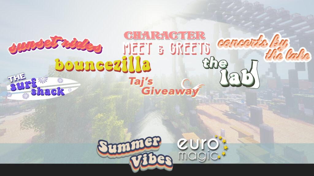 Splash, Swing, Scream into summer with EuroMagic: Summer Vibes!
