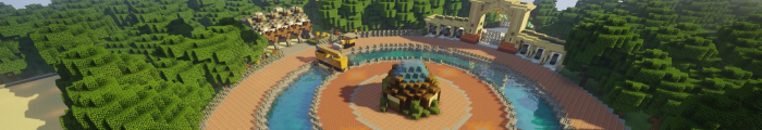 Minecraft Pretpark FantasiaCraft (Custom park)