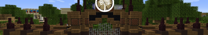 Minecraft Themepark Forest Getaway (Custom park)