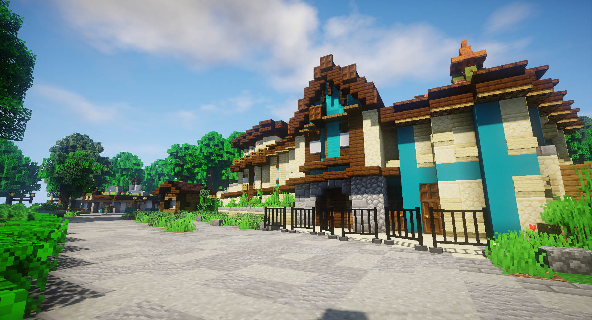 Minecraft Pretpark ZintuigenCraft