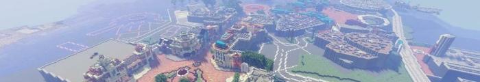 Minecraft Themepark MCVantage (Disneyland Hong Kong)