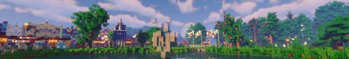 Minecraft Pretpark MCWalibi (Walibi Holland)