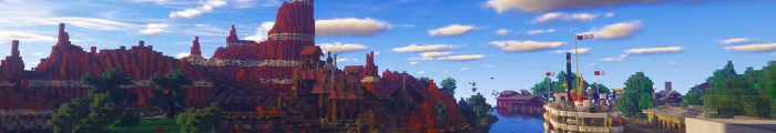 Minecraft Themepark MineDisney (Disneyland Paris)