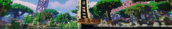 Minecraft Parc d'attractions MineDream (Parc personnalisé)