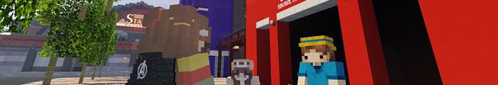 Minecraft Themepark MovieParksMC (Custom park)