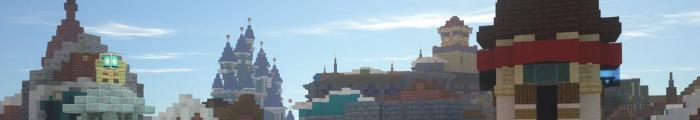 Minecraft Themepark Mythical Parks (Custom park)