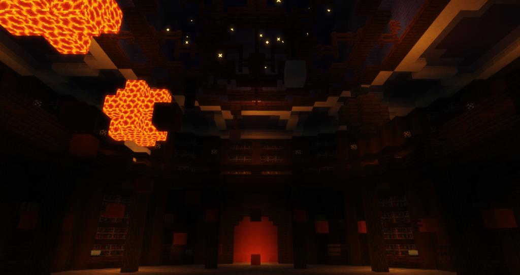 Lobby van Minecraft Pretpark PieckCraft