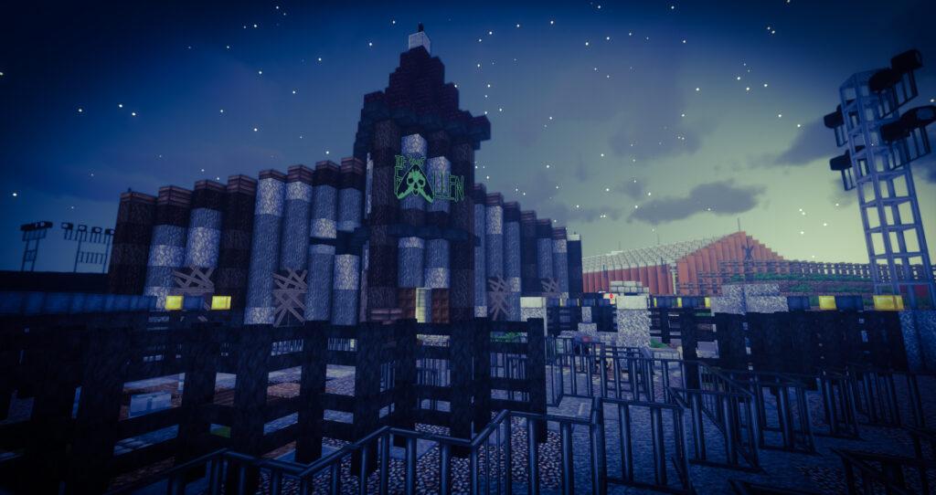 Horror Nights – Traumatica are back on EuropaPark-Minecraft!
