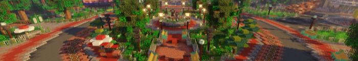 Minecraft Themepark Soarin' Resort (Custom park)