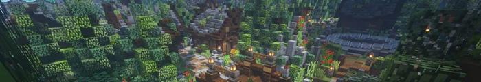 Minecraft Themepark Strangeburgh (Custom park)