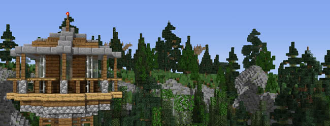ParkLeaksMC - Forgotten Forest expansion opens on Kw6Craft – 11 July 2020