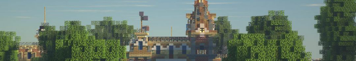 Minecraft Themepark The Amuse Network (Disneyland Paris)